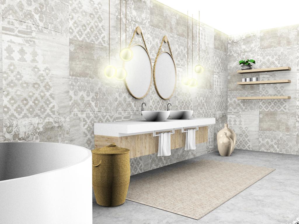 Konzept Badezimmer