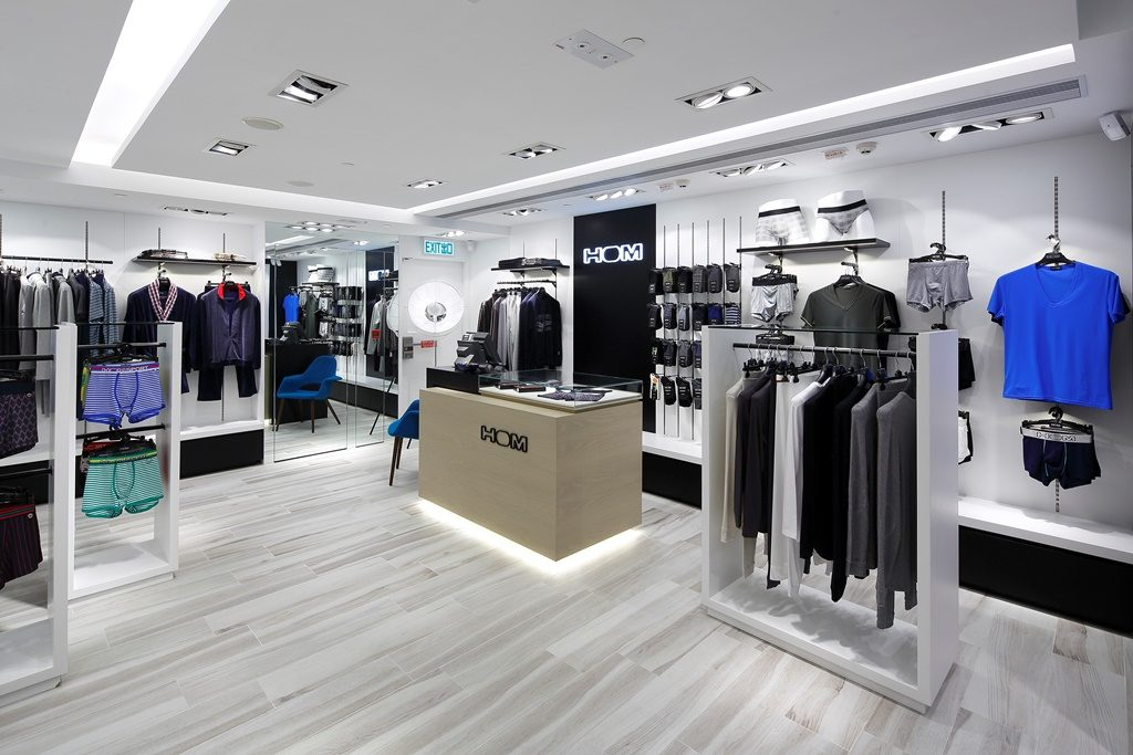 Retail Design: HOM (Hong Kong City Plaza) In Zusammenarbeit mit The Retailist GmbH Euskirchen