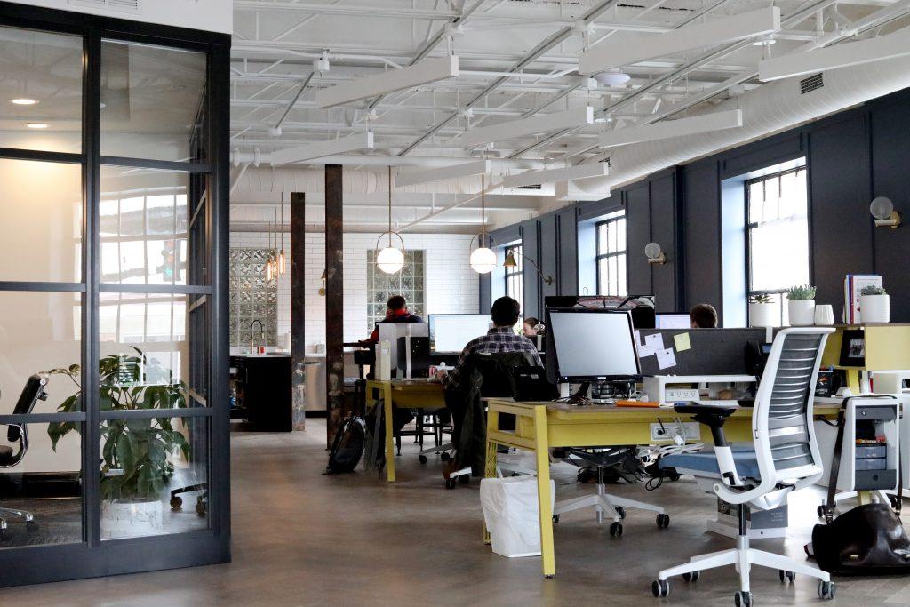 Aufgaben des Innenarchitekten Büroplanung